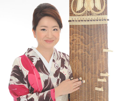 concierto de koto Fuyuki Enokido